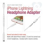 Apple Lightning to Headphone Adapter