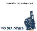 Hooray Birthday Sea Devils Card
