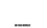Thank You Sea Devils Card #2