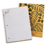 1 Subject 80 Sheet College Ruled Notebook From Recycled Paper