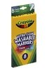 Markers Crayola Washable 8 Pack